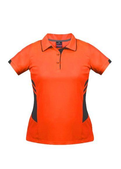 Neon Orange/Slate