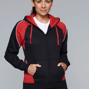 LADY PANORAMA ZIP HOODIES 2511